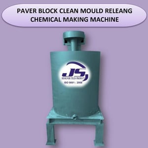 Paver Block Clean Mould Releasing Chemical Making Machine