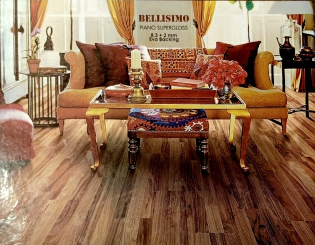 BELLISIMO LAMINATED WOODEN FLOORING