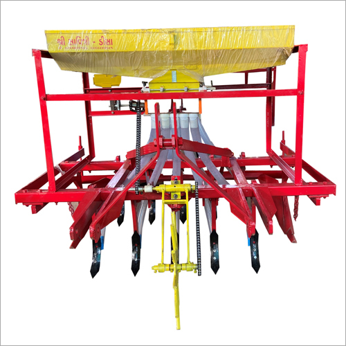 Bed Type Automatic Seed Cum Fertilizer Drill