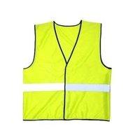 Nylon Plain Reflected Safety Jacket