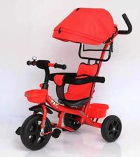 Kid Tricycle Awning Red