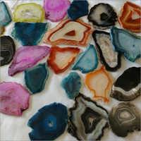 Multicolor Agate Slices