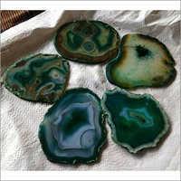 Round Agate Coasters
