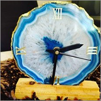 Agate Slice Watch