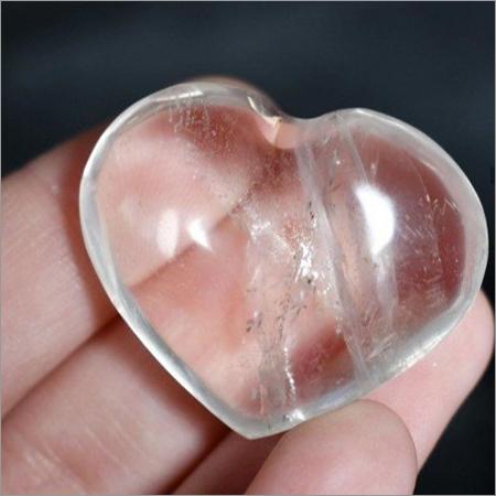 Crystal Heart Stone