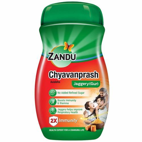 Zandu Chyavanprash Avaleha Jaggery (Gur), Ayurvedic Immunity Booster - 450g