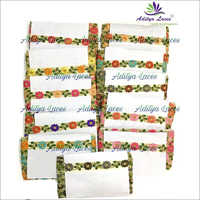 Net Embroidery Multi-Color Designer Fancy Lace