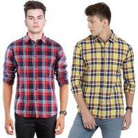 Branded Mens Casual Check shirts