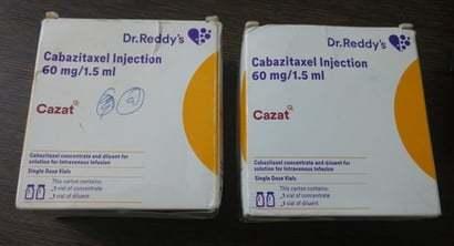 CABAZITAXEL INJECTION 60MG/1.5ML
