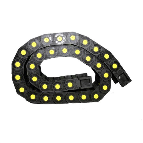 Black Plastic Cable Drag Chain