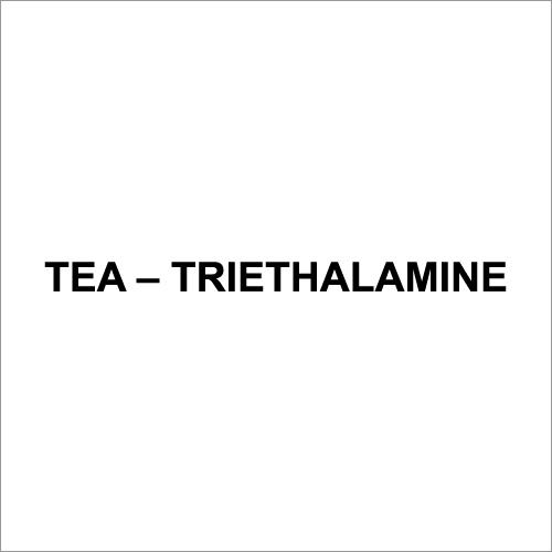 Tea Triethalamine