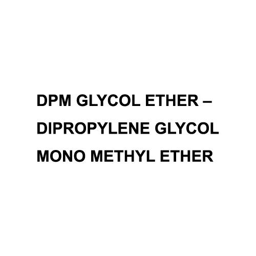 DPM Glycol Ether Dipropylene Glycol Mono Methyl Ether