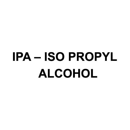 IPA ISO Propyl Alcohol