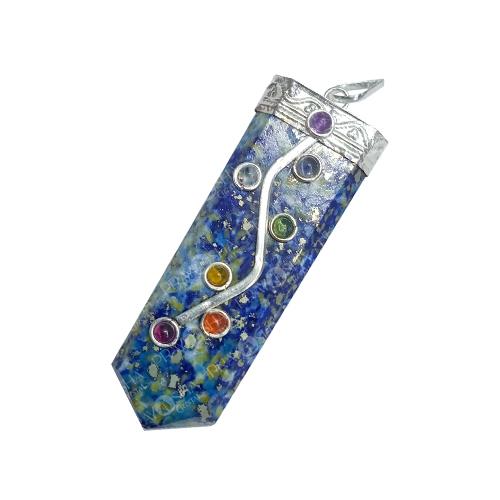 Prayosha Crystals Natural Lapis Lazuli Pendant