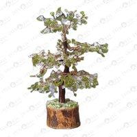 Prayosha Crystal + Peridot Tree