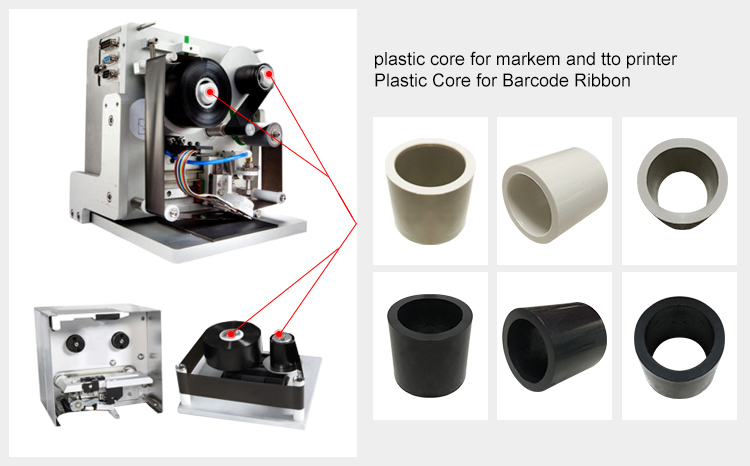 Plastic Core For Barcode Roll