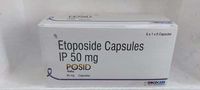 Etoposide Capsules Ip 50 Mg