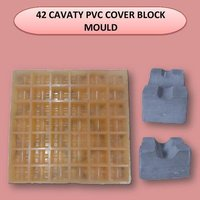 42 Cavity Pvc Cover Block Mould
