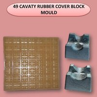 49 Cavity Rubber Cover Block Mould