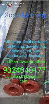 Cement Barytes Suction Hose,