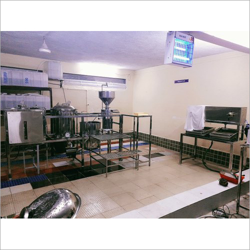 350 LPH Automatic Soya Milk Making Machine