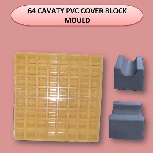 64 Cavity Pvc Cover Block Mould