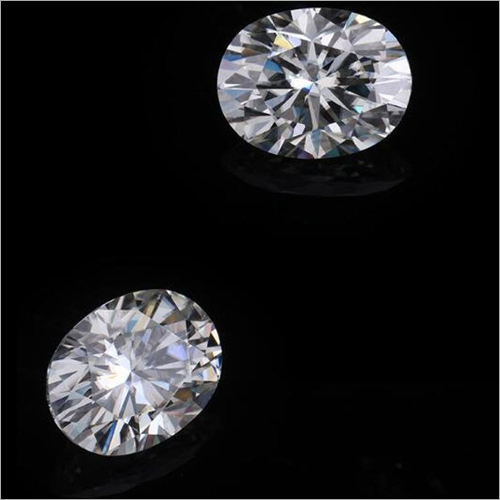 Oval Brilliant Cut Excellent Loose Moissanite Stone
