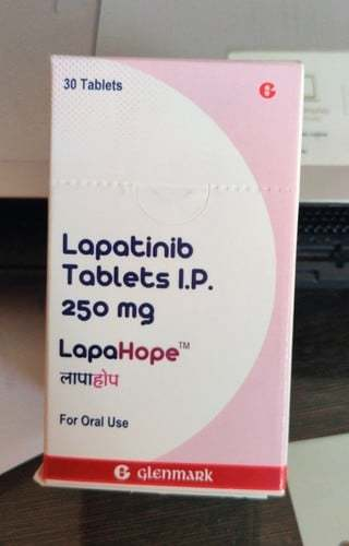 Lapatinib Tablets I.p. 250mg