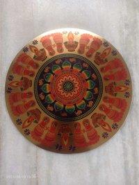 Rangoli Golden Stickers