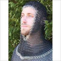 Medieval Armour Coif Zinc Plus Black