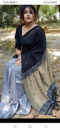 Gheecha work pallu Saree