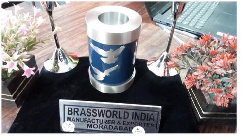 Brass Going Home Bird Candle Urn Funeral Supplies