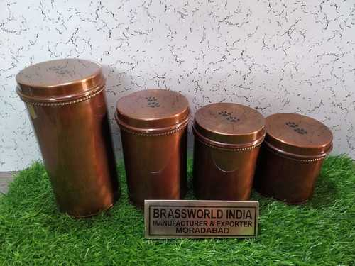 Brass Pet Brown Different Size Of Pet Paw Urn Funeral Supplies