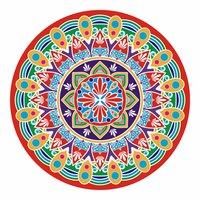 Peper Rangoli Sticker