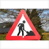 Warning Sign Board