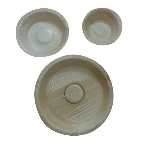 Areca Leaf Plate And Dona