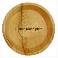 10 Inch Biodegradable Round Plate
