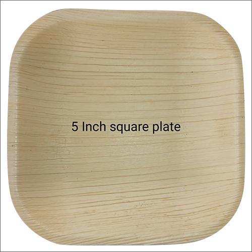 5 Inch Biodegradable Square Plate