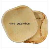 4 Inch Biodegradable Square Bowl