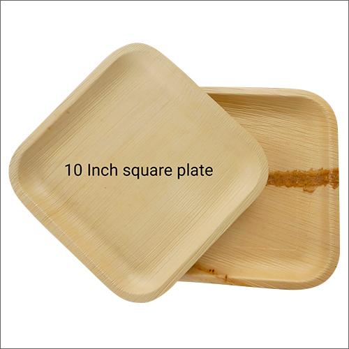 10 Inch Biodegradable Square Plate