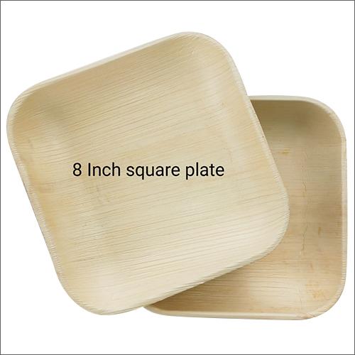 8 Inch Biodegradable Square Plate