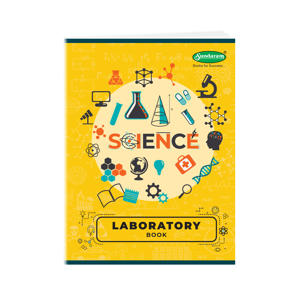 Sundaram Laboratory Book - Big (Two Sided Rulled) - 170 Pages (P-4T)