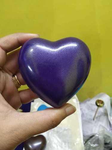 Blue Heart Urn Funeral Supplies