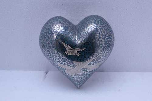 Heart Going Home Bird Cremation Urn Funeral Supplies