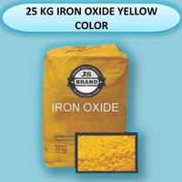25 KG IRON OXIDE YELLOW COLOR
