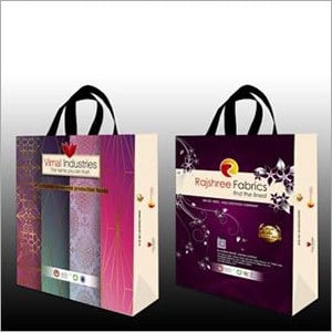 Printed Bopp Laminated Shopping Bags