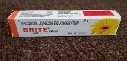 Hydroquinone, Oxybenzone & Octinoxate Cream