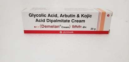 Glycolic Acid, Arbutin & Kojic Acid Dipalmitate Cream