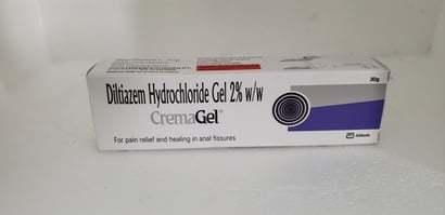 Diltiazem Hydrochloride Gel 2% W/w