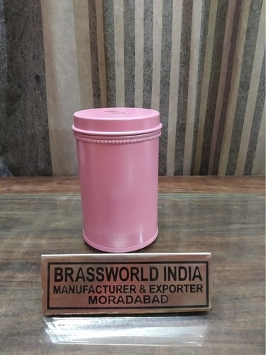 Round Pink Colour Pet Paw Urn Funeral Supplies